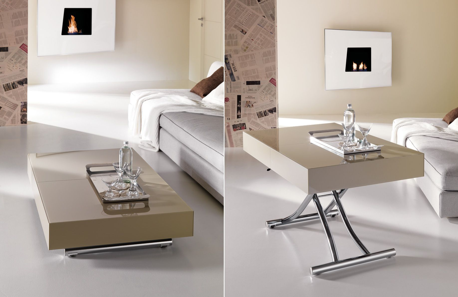 More Functions In A Compact Design - Convertible Coffee Tables ...