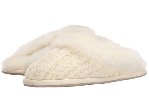 45d32803790 Cable knit slippers