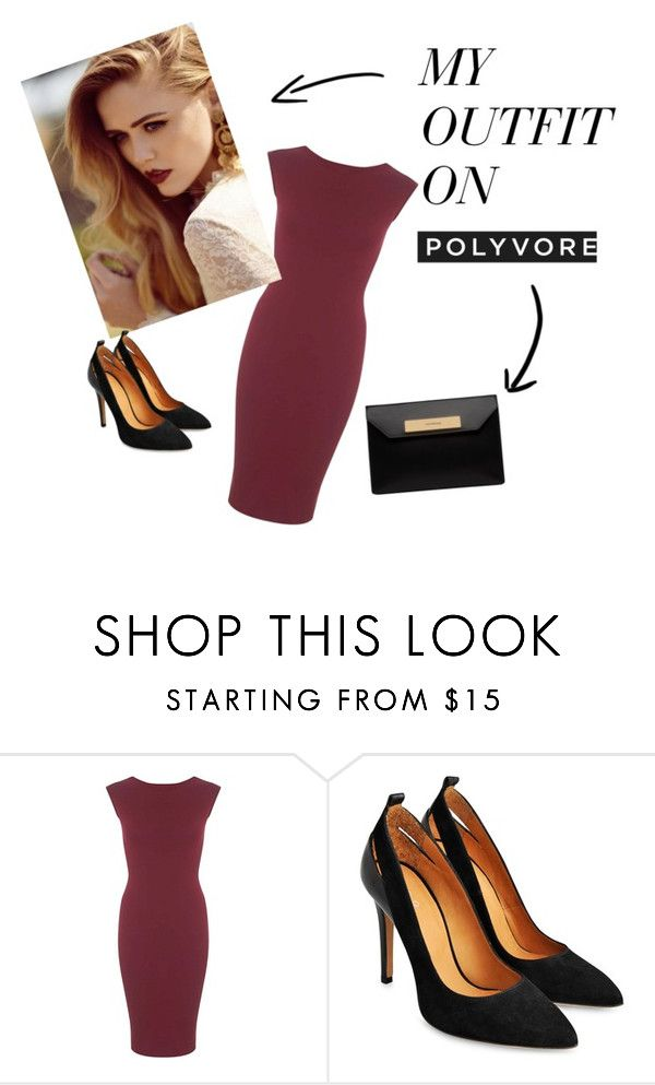 """""""H&M"""" by ramiza-rotic ❤ liked on Polyvore featuring Miss Selfridge and Balenciaga"""