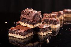 Doble #brownie de chocolate con #nueces de @Recetas de Cocina