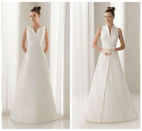 Vestidos de novia para bajitas: Fotos de trajes - Vestidos de novia ...
