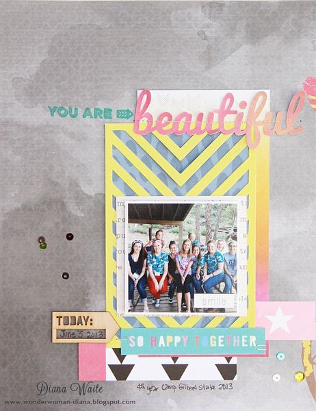 you are beautiful by diana waite - Two Peas in a Bucket
