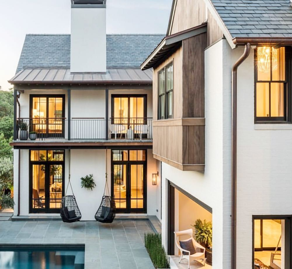 Unique Home Exterior Design: What Do You Love Most This Custom Transitional Home