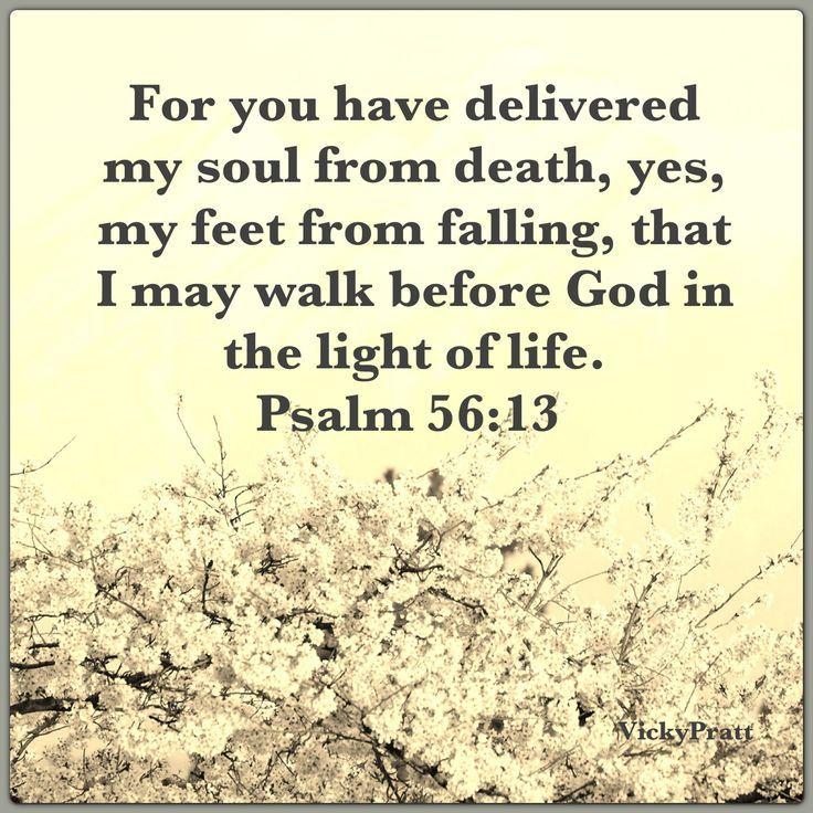 Ps. 56:13