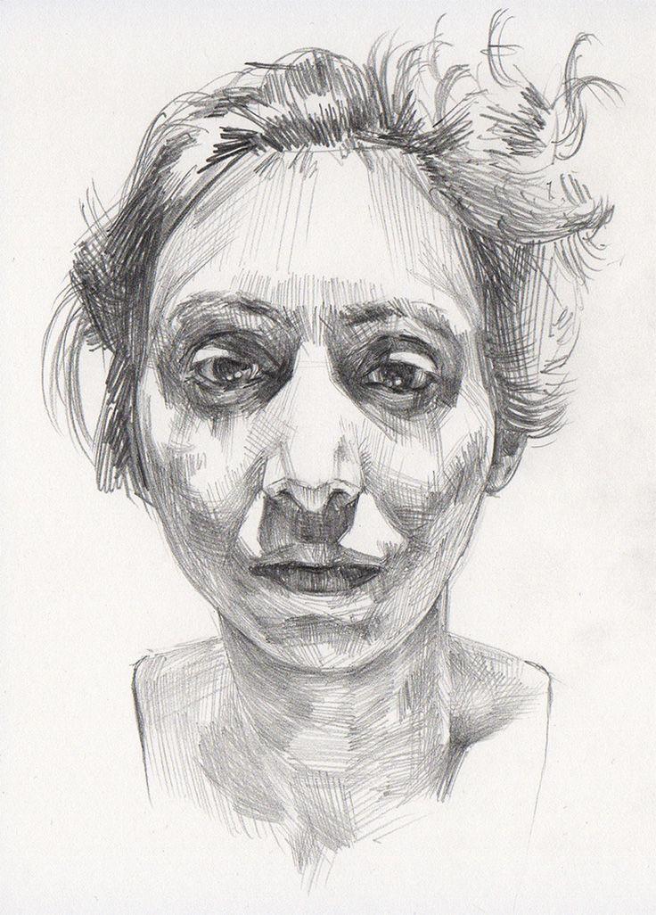Anita #2 | Woman face, Graphite and Contemporary art