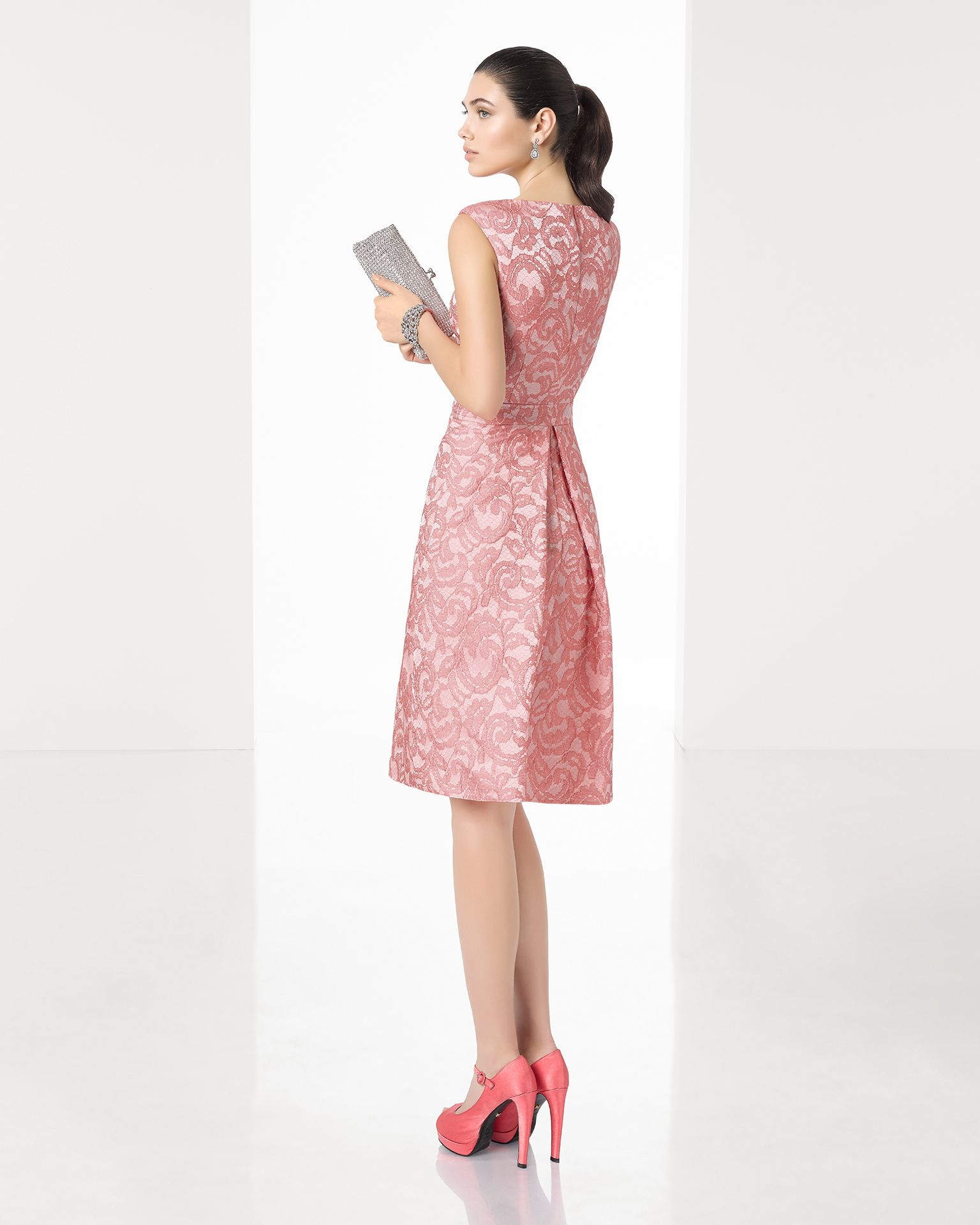 1T1E6 | Cosas que ponerse | Pinterest | Rosa clará, Vestidos de ...