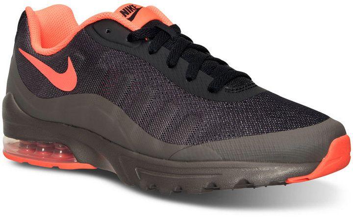 huge discount 06069 12460 Nike Men s Air Max Invigor Print Running Sneakers from Finish Line