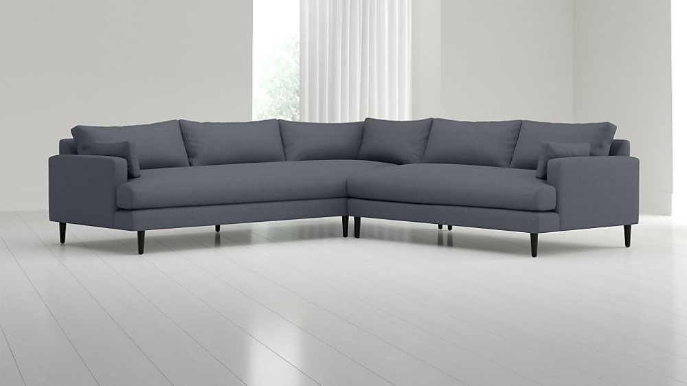 Monahan 2-Piece Left Arm Corner Sofa Sectional | living room ...