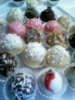Cake Balls - Deluxe Variety of Southern and Liqueur Cakes - Delicious and Pretty