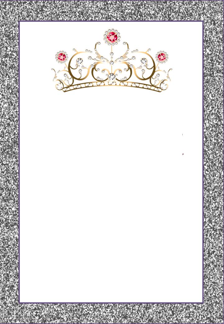 Marcos, Invitaciones, Tarjetas o Etiquetas con Coronas