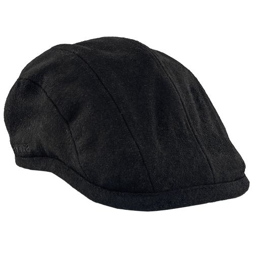 440152d6e6a75 McConaughey - Stetson STW198 Black Weather Leather Safari Hat ...