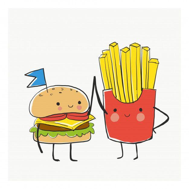 Friends And Burgers Menu