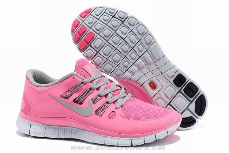 best service a2b99 72452 Cheap Nike Free 5.0 Pink Gray 580591-600 Womens