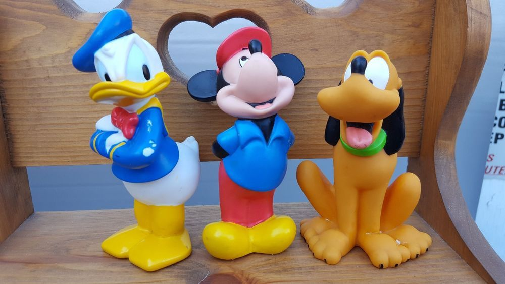 Disney Plastic Bath Toy Mickey Mouse, Donald Duck, Pluto #Disney ...