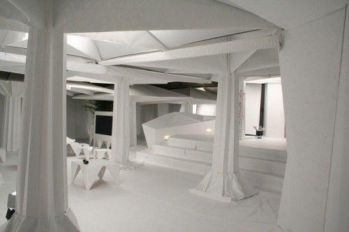 Diseños Interiores en Origami. Imagen: SCHWEIZERHOF LUZERN / AUGUST 2010