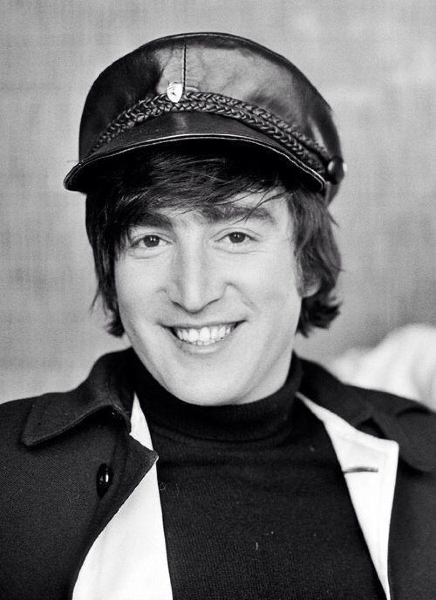 1965 - John Lennon in Help! film (backstage photo).