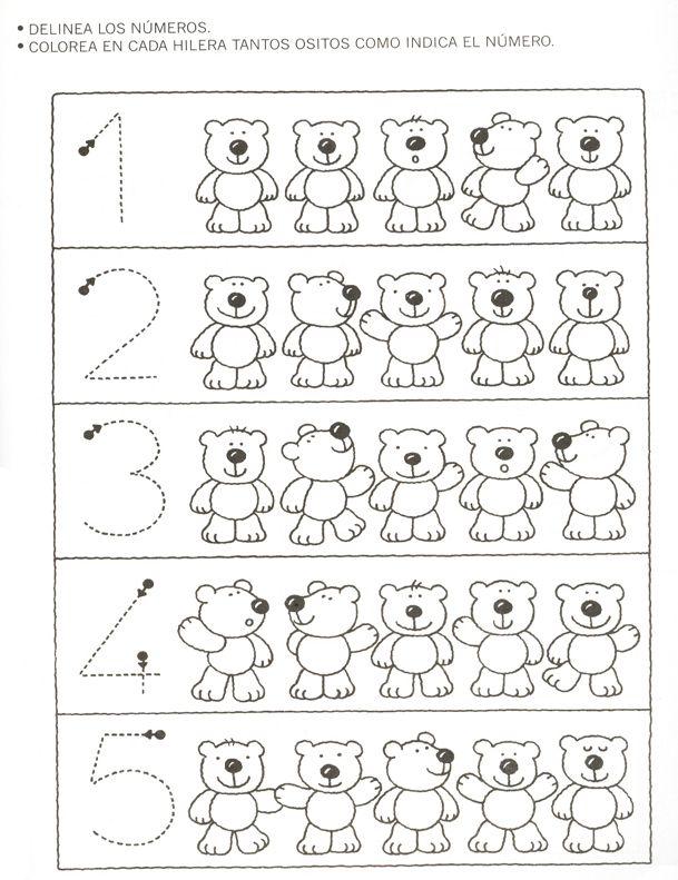 Prof marcela atividades n meros de 1 a 10 5 for Grado superior de jardin de infancia