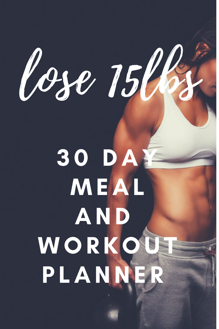 Lose 9lbs in 9 days by following this meal and workout planner