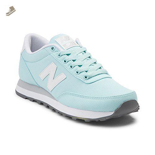 0bd7f9e9ad991 New Balance Women's 501V1 Sneaker, Blue/Black, 10 B US - New balance ...
