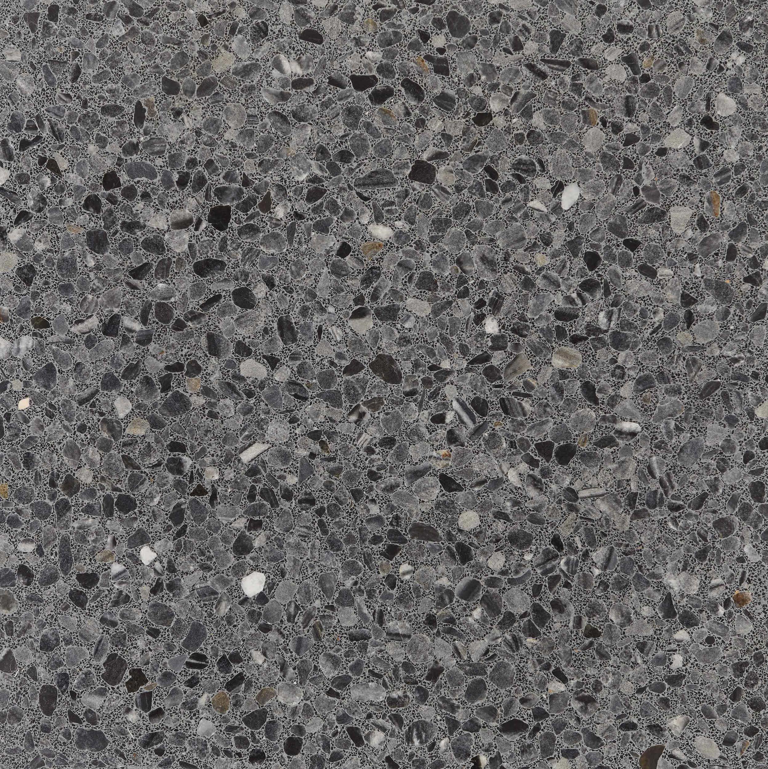 Fossil terrazzo stone tiles green magazine pinterest - Terrazza o terrazzo ...