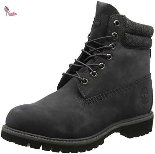 Timberland 6 In Double Collar B, Bottes Classiques Hommes, Gris (Forged  Iron)