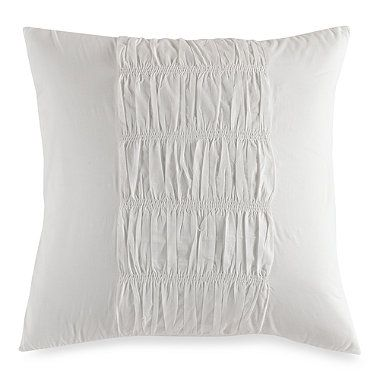 Dkny European Sham In Willow White Bed Bath And Beyond Bedding Shop Euro Pillow Shams