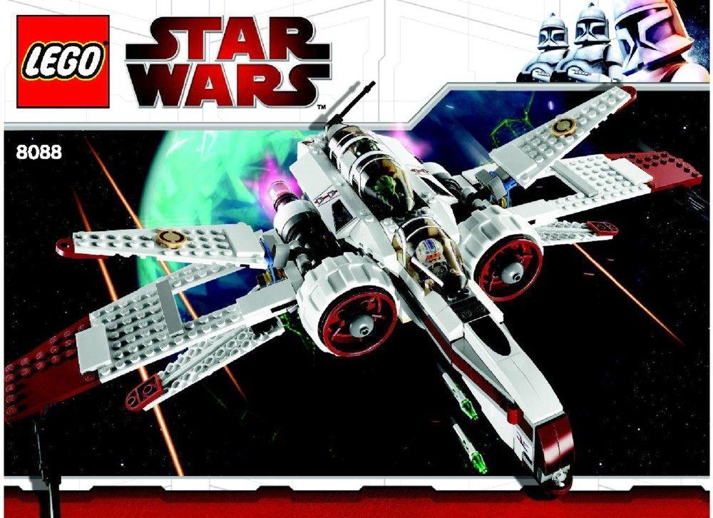 Star Wars Arc170 Starfighter Lego 8088 Lego Sets Of Epicness
