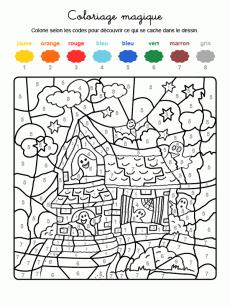 Coloriage magique carnaval 3 matteo pinte - Coloriage magique automne ...
