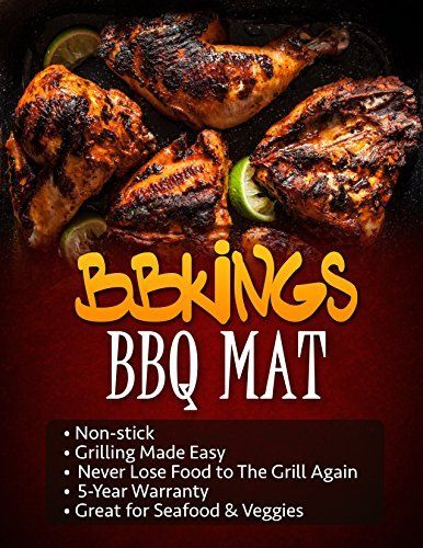 Grill Mat BBQ Accessory Set From BBKings Healthy Cooking