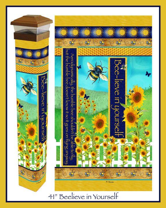 Believe in yourself garden art peace pole with solar light 41 solutioingenieria Choice Image