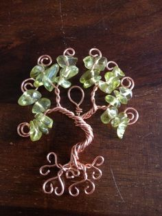 wire tree of life pendant - Google Search