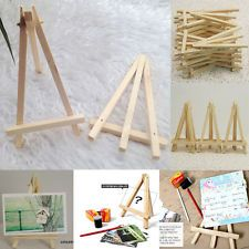 Wood Artist Easel Wedding Table Number Place Name Card Stand Display Holder  DIY