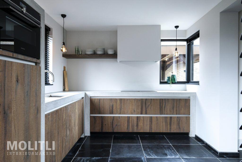 Binnenkijker keuken nijkerk minimal in kitchen cabinets