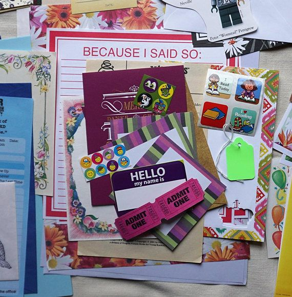 Pen Pal Snail Mail Kit Awesome Geek Girl Gift Happy Snail Mail