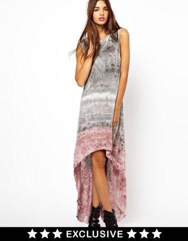 Tie Dye Maxi Dress at ASOS
