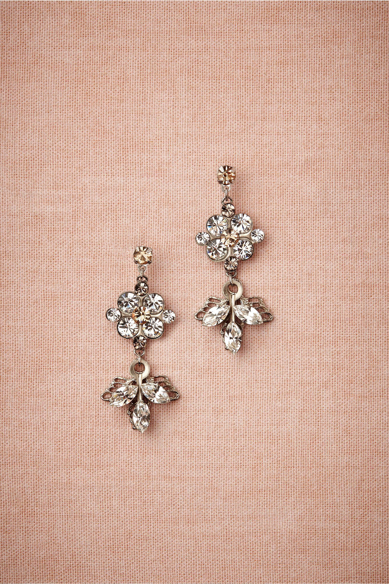 Levant Earrings in Bride Bridal Jewelry Earrings at BHLDN
