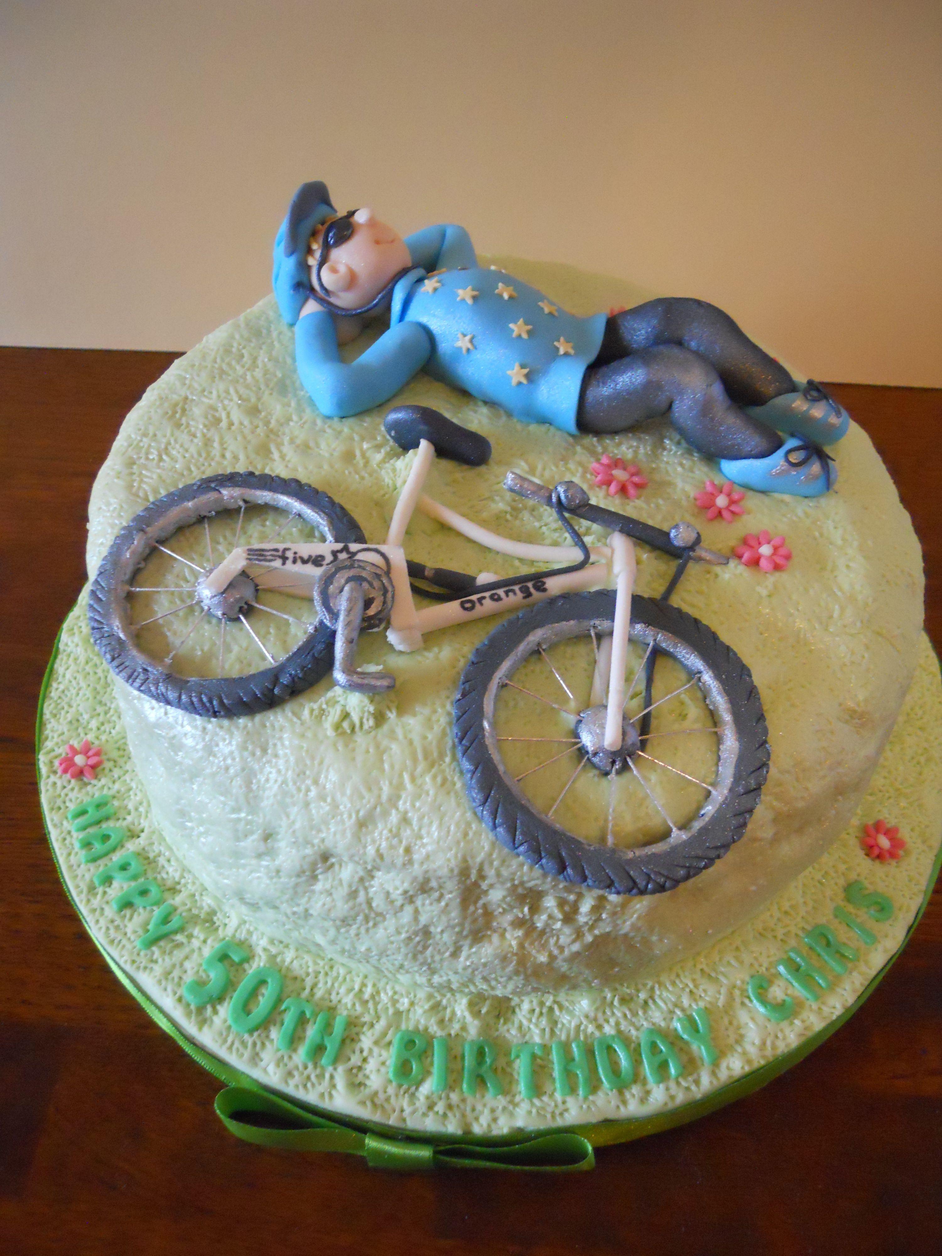 An Intricate Mountain Bike Cake Kks Mountain Bike Cake