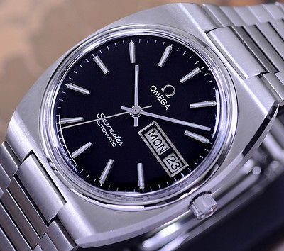 OMEGA SEAMASTER AUTOMATIC DAY&DATE CAL 1020 BLACK DIAL DRESS MEN'S WATCH https://t.co/1krr3OPcy3 https://t.co/efhyaPmhrc