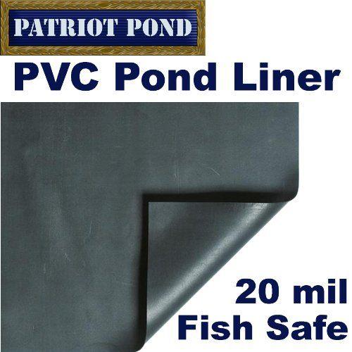 10' X 15' Patriot 20 Mil Pvc Pond Liner, 2015 Amazon Top ...