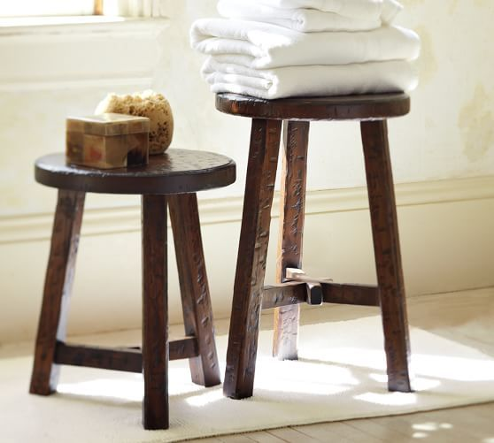 Colby Accent Stool | Pottery Barn Great Ideas
