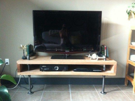 DIY: Urban Minimalist TV Stand