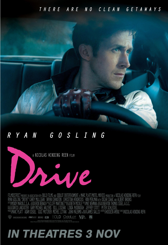 Film Guy Reviews April 2015 A4 poster, Drive