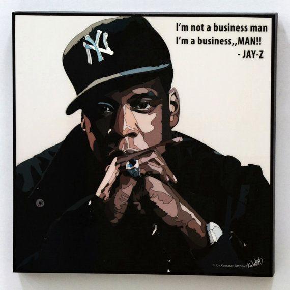 Jay Z Wall Art Decals Quotes inspirerende door WallArtDecalsQuotes
