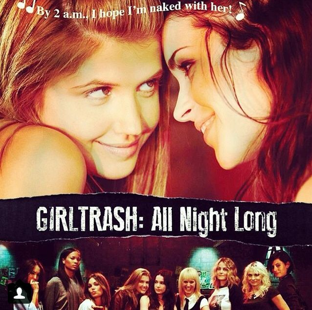 Image result for girltrash! all night long movie poster