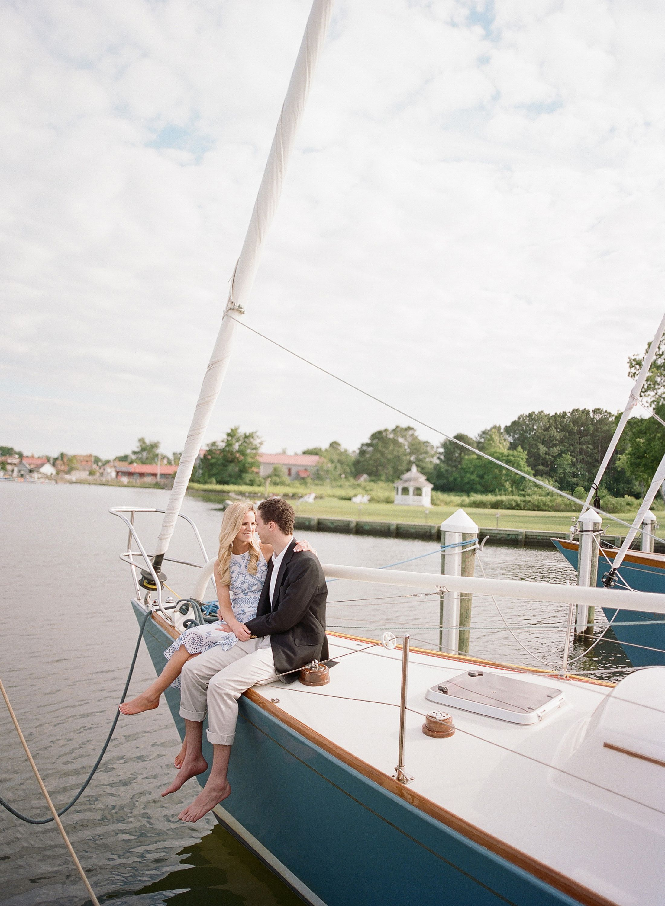 From Bikes to Boats, We Have The Sweetest Summer Engagement Shoot Ever Right Here