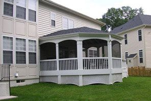 Screened In Porch Contractors Northern Virginia Porch Remodeling
