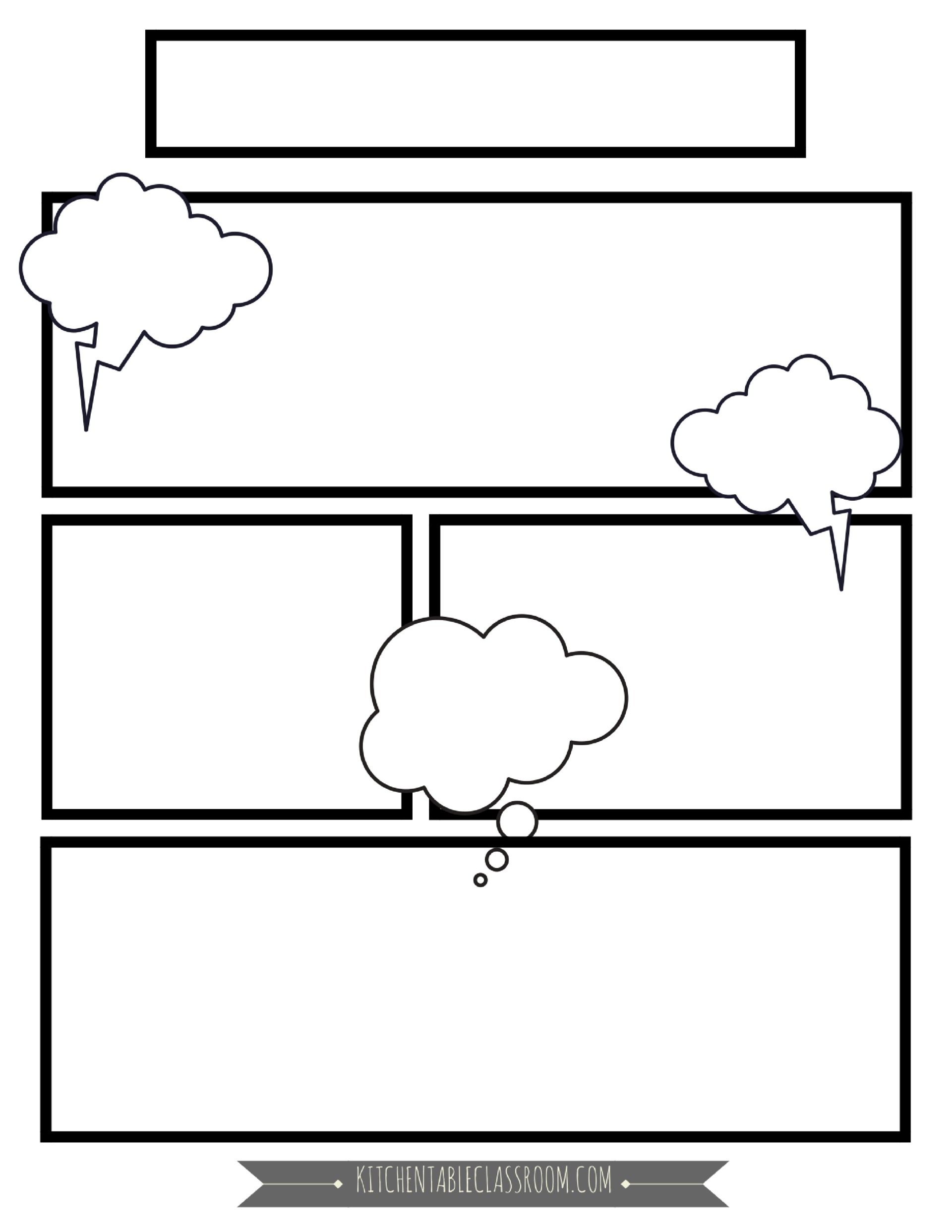 Comic Book Templates