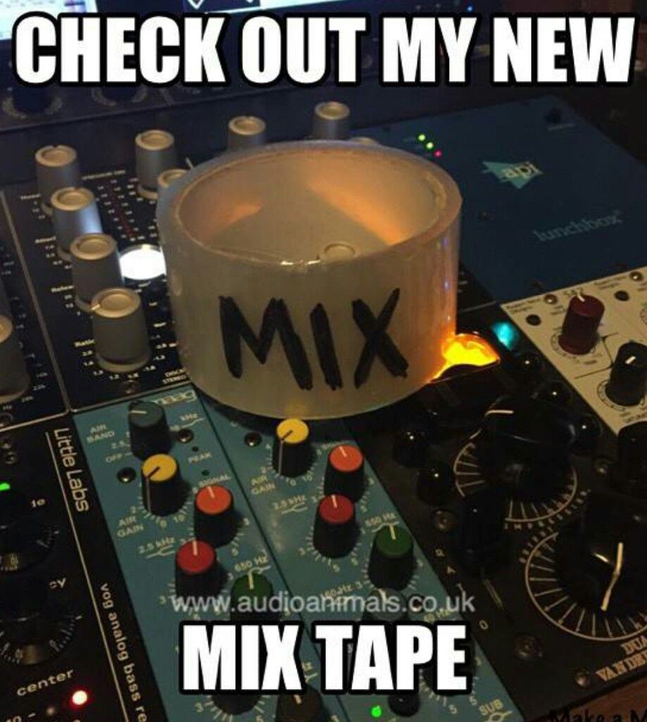 Who Needs Packing Tape When You Have This Engineering Memes Recording Studio Design Audio Memes