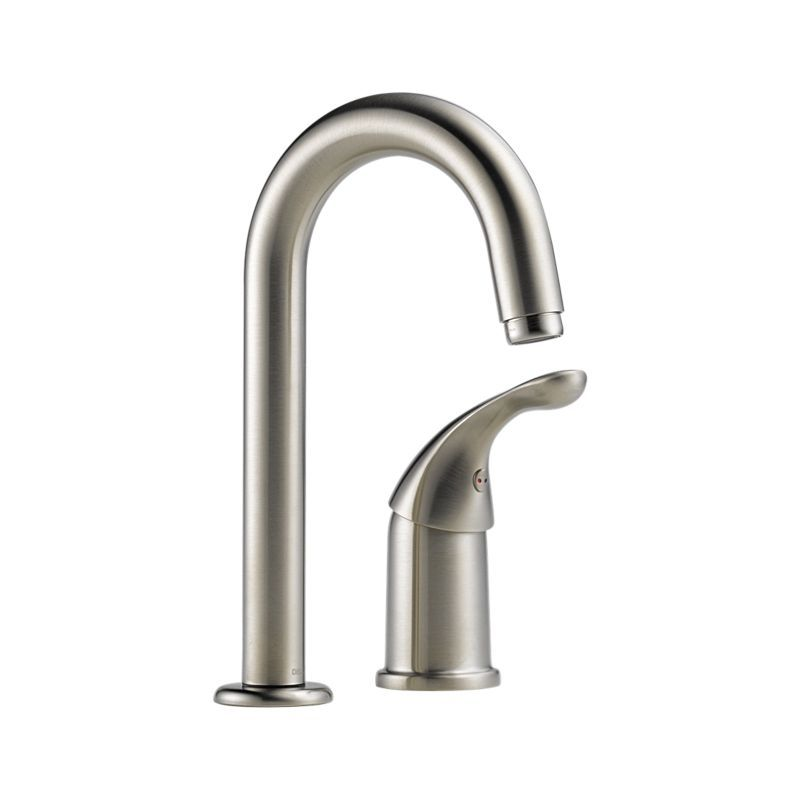 Delta Bar Faucet 1903 Ss Dst Clic Single Handle Prep