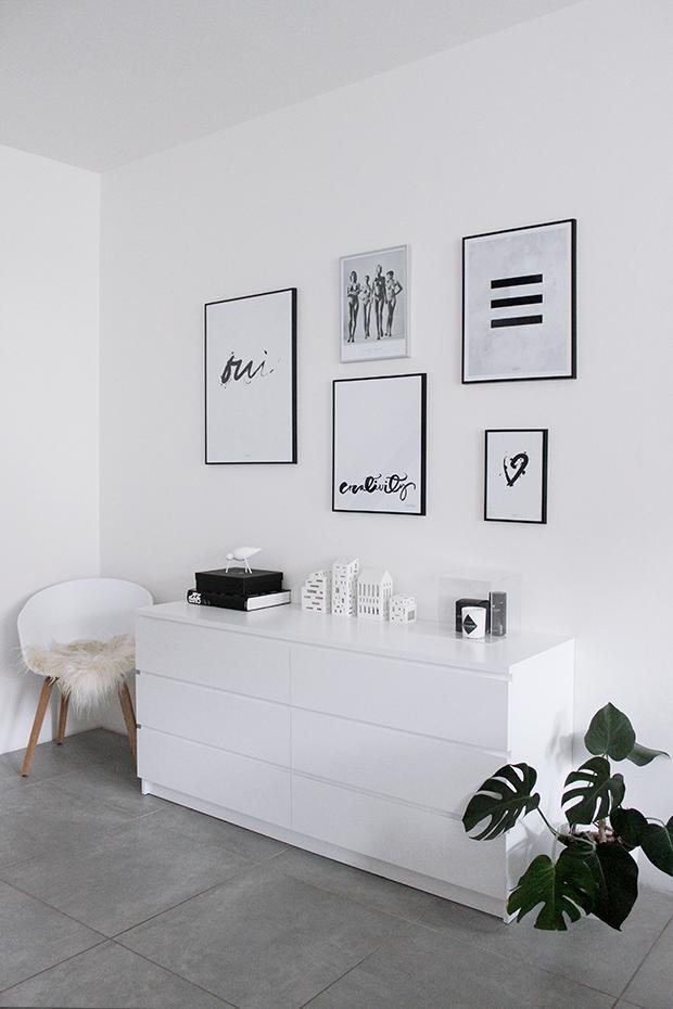 Černobílý Obývák / B&W Living Room